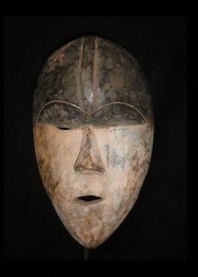 Old Tribal Igbo Mask Nigeria ......Fest- gb344