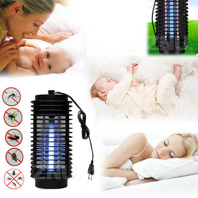 Safety Electric Mosquito Fly Bug Insect Zapper Killer With Trap Lamp US/EU Plug