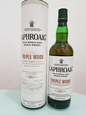 Laphroaig Triple Wood Single Malt Scotch Whisky 700ml @ 48 % abv