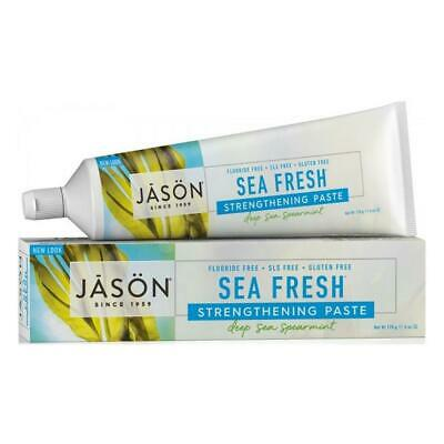 Jason Organic Toothpaste Sea Fresh Strengthening  Spearmint 170g