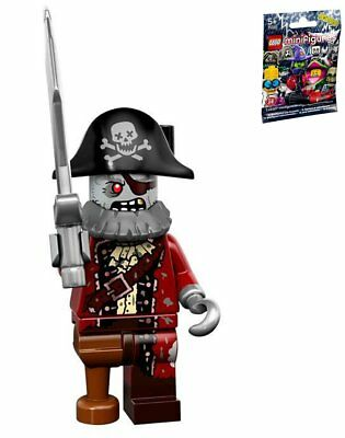 LEGO 71010 MINIFIGURES Monster Series 14 #02 Zombie Pirate
