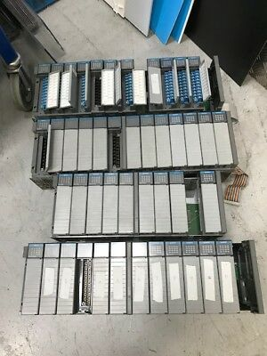 Allen Bradley SLC500 Rack Input Card Output Card Bundle Job Lot