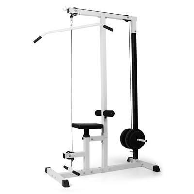 Home Fitness Multi Gym Lateral Pulldown Chest & Seated Rowing Arm Curl Station
