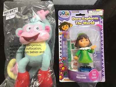 Dora The Explorer Doll Figure Toys Dora Explores The World IRELAND  Free Monkey