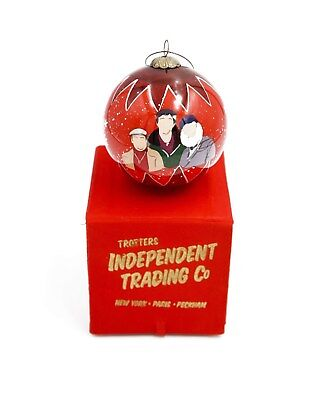 Only Fools & Horses Christmas Bauble Decoration GREAT GIFT IDEA RED