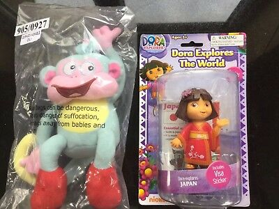 Dora The Explorer Doll Figure Toy Dora Explores The World JAPAN FREE  Monkey