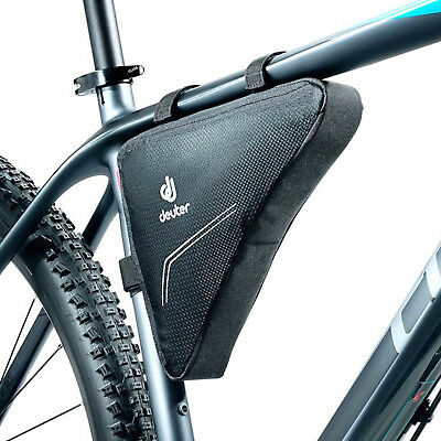 Deuter Triangle Bike Frame Reverse Zip Bag in Black