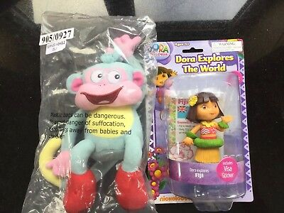 Dora The Explorer Doll Figure Toy Dora Explores The World FIJI FREE  Monkey