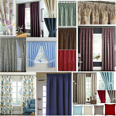 A Wide Range Of Winter Lined, Heavy, Thick, Thermal Curtains - Keep The Heat In