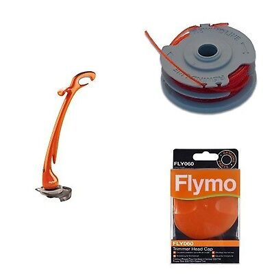 Flymo Contour XT Electric Grass Trimmer and Edger 300W with Flymo Double Line...