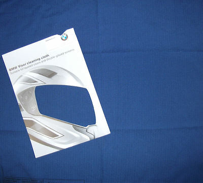 BMW Motorcycle Helmet Cleaning Care Cloth