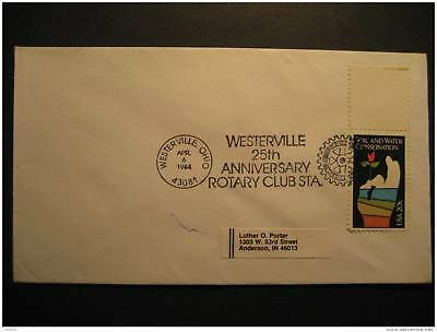 USA Westerville 1984 Rotary Cancel