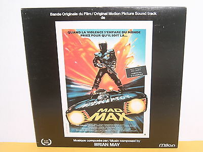 Lp - Mad Max  - Brian May