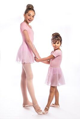PINK Pull On Ballet RAD tutu wrap Skirt. Toddler/ Girls age 2,3,4,5,6,7,8,9,10