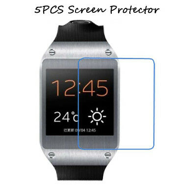 5PCS Clear Screen Protector Guard Cover Film For Samsung Galaxy Gear V700