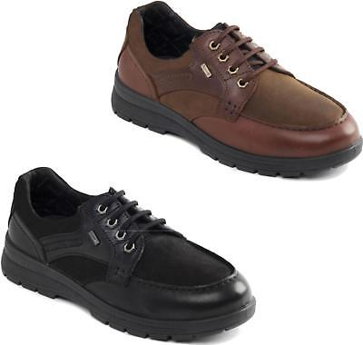 Padders TRAIL Mens Waterproof Leather Nubuck Dual G/H Wide Fit Lace Up Shoes