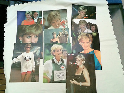 Princess Diana Herald Sun Portraites A4 Set Of 10.