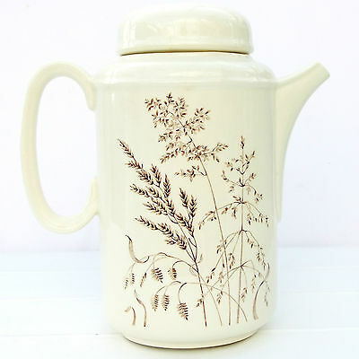Vintage Retro 1970s JG Meakin Windswept Coffee Pot