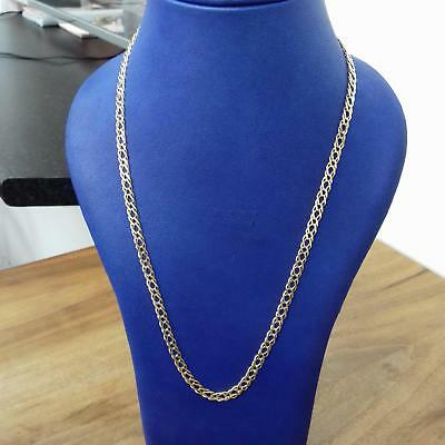 9ct Yellow Gold Fancy Link Chain 12.6g