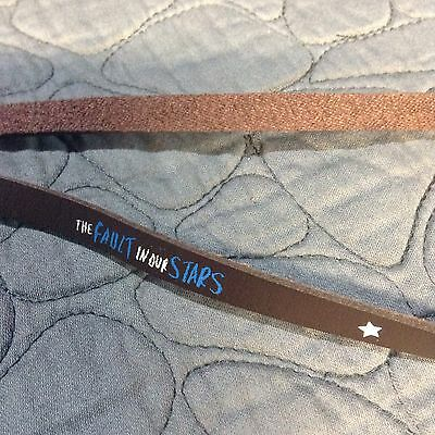**HTF**The Fault in Our Stars Infinity Bracelet  from Little Infinities -TFIOS