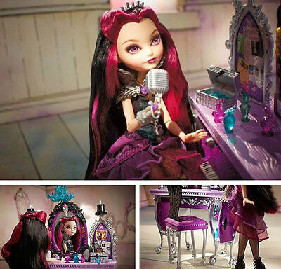 Ever After High Raven Queen Destiny Vanity - Doll Not Included - Bnib