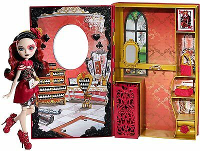 Ever After High Doll Lizzie Hearts Spring Unsprung Book - Bnib
