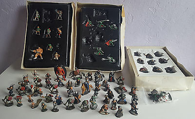 71 x Warhammer Citadel Pre Slotta Lead Figures, 1983/1984, Job Lot, Bundle.