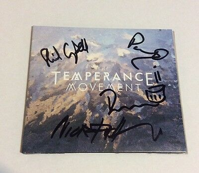 The Temperance Movement - Autographed CD *Band Signed* Blues Rock