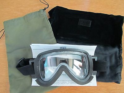 Genuine Sas Unused Cam Lock Anti Mist Parachuting Goggles Ideal For Motorcycling