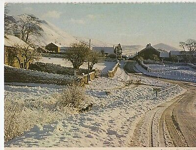 Knock In Winter - An Old Postcard By Knock Womens Institute (7I38)