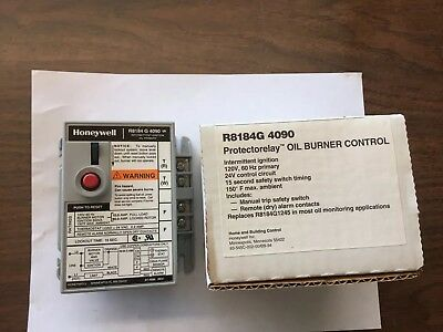 R8184G4090 New in Box Honeywell Protectorelay
