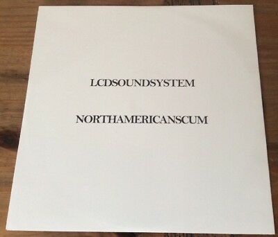 """LCD Soundsystem – North American Scum 12"""" vinyl Promo Copy Never Used Or played"""