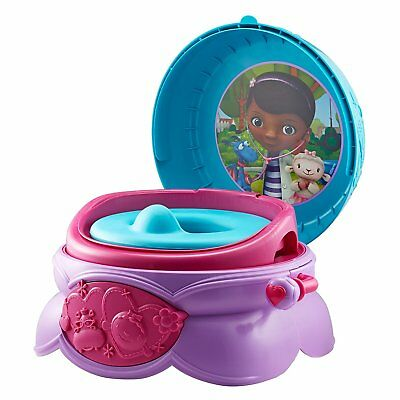 - NEW - The First Years Disney Junior Doc Mcstuffins 3-In-1 Potty System