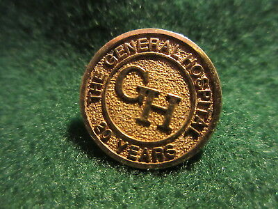 Newfoundland? General Hospital 20 Year Service Lapel Pin Marked STE (Sterling?)
