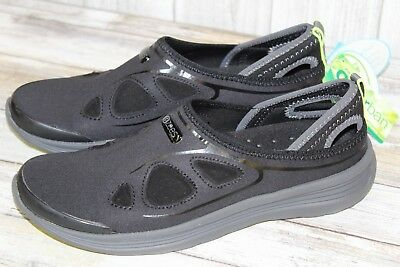 Bzees Wisdom Mesh Odor Control Water Shoes-Women's Size 9M, Black