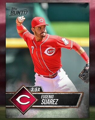 TOPPS DIGITAL Bunt 17 Card Trader: Black Base 3.5x Boost: Eugenio Suarez (1 card