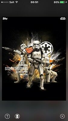 TOPPS Star Wars Card Trader: Rogue One - Data Files - The Elite Empire Soldiers,