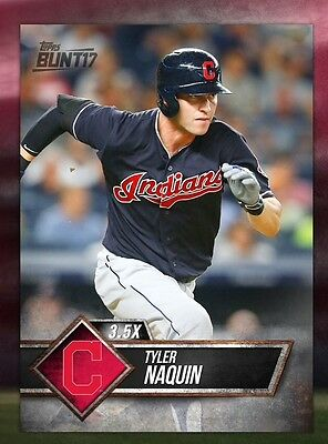 TOPPS DIGITAL Bunt 17 Card Trader: Black Base 3.5x Boost: Tyler Naquin (1 card)