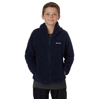 Peter Storm Kids' Teddy Full Zip Fleece Outdoor Clothing Navy