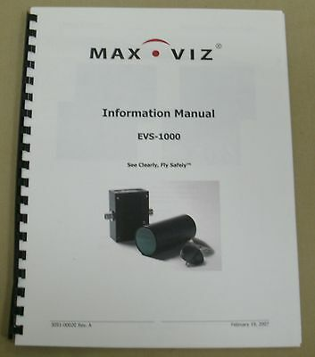 Max-Viz Information Manual EVS-100