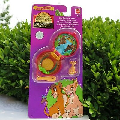 Polly Pocket Lion King Stamper Simba König der Löwen Stempel Mini Collection
