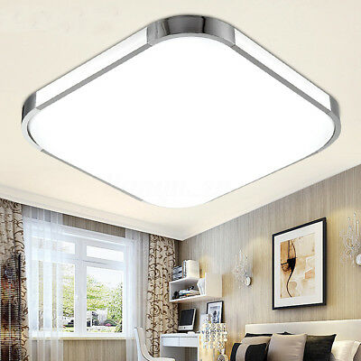 18W 36W 48W Square LED Ceiling Panel Light Lamp Lighting Fixture Downlight AC