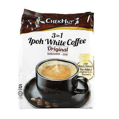 Chek Hup 3 In 1 Ipoh White Coffee Original Instant Powder Free Shipping