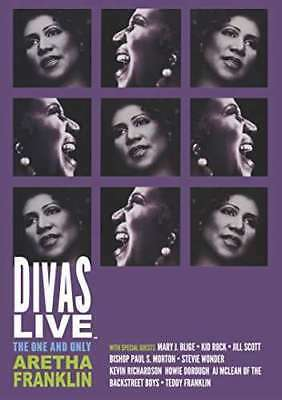 ARETHA FRANKLIN - DIVAS LIVE - The One And Only Aretha Franklin Neuf DVD