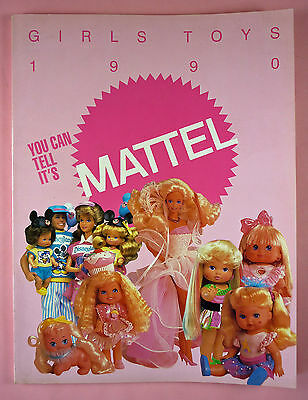1990 Mattel Girls Toys Catalog - Barbie, Heart Family Holly Hobbie, Etc