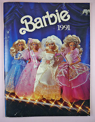 1991 Mattel Catalog - Barbie - Collector, Dept. Store Specials, Etc