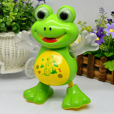 Light-Up-Dancing-Toy-Singing-Frog-Musical-LED-Animals-Toys-GN Enterprises