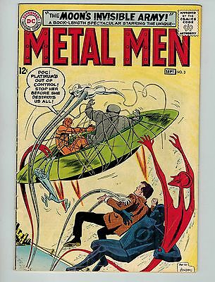 Metal Men #3 (Aug-Sep 1963, DC)! VG4.5+! Silver age DC beauty! WORTH A LOOK!