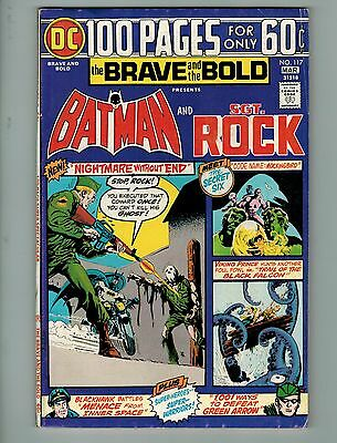 The Brave and the Bold #117 (Feb-Mar 1975, DC)! FN6.5+! Bronze age DC 100 page!