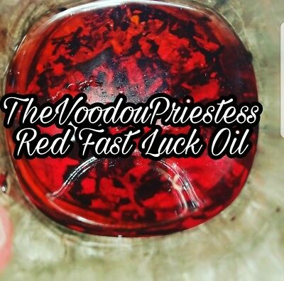 RED FAST LUCK OIL ~ Wealth, Love, Luck, Prosperity